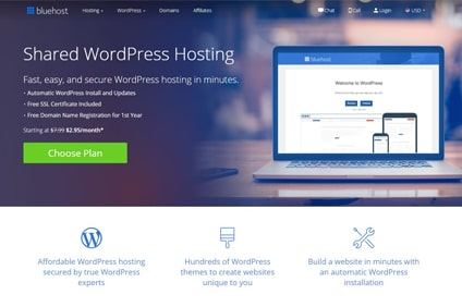 bluehost-wordpress