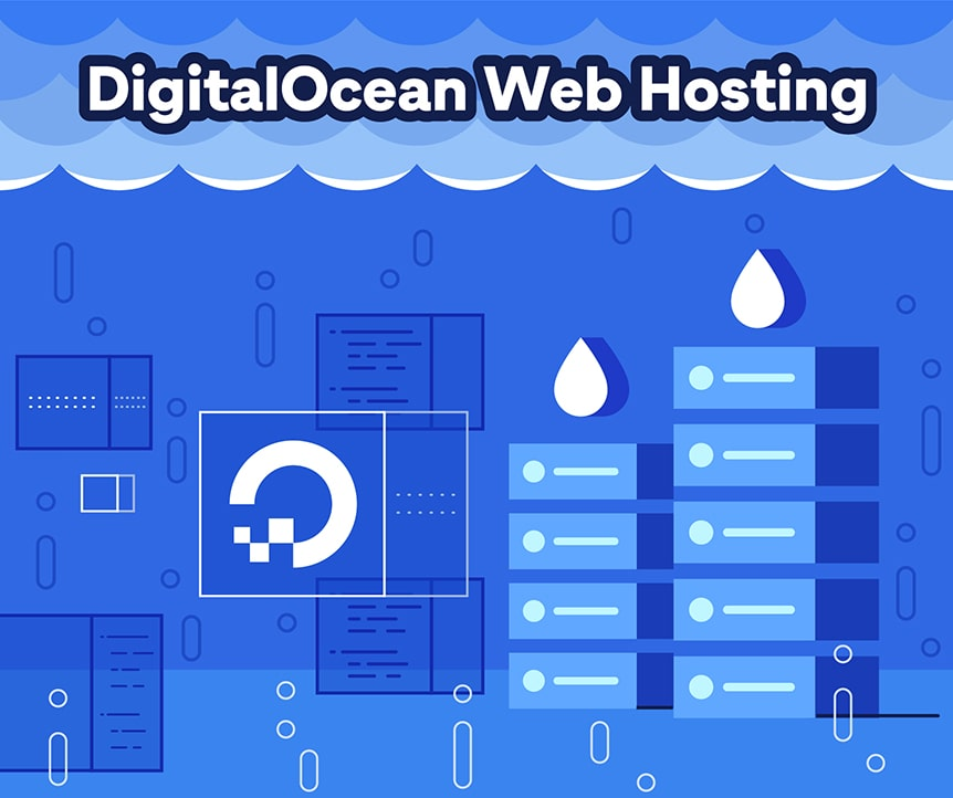 DigitalOcean Web Hosting Facts & Stats Infographic