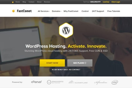 fastcomet-wordpress