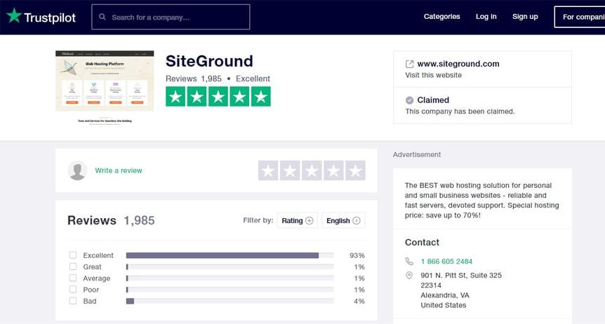 siteground-wordpress-trustpilot