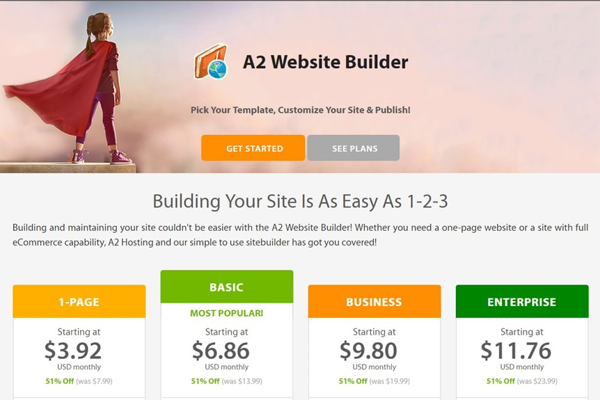 a2-hosting-website-builder