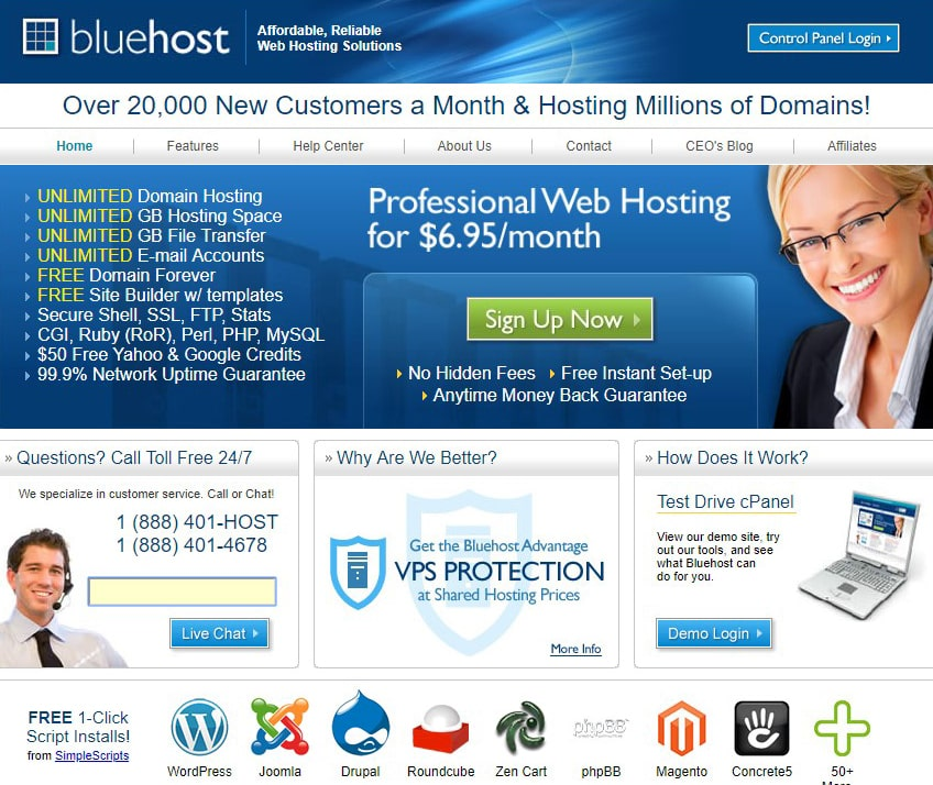bluehost-background-info
