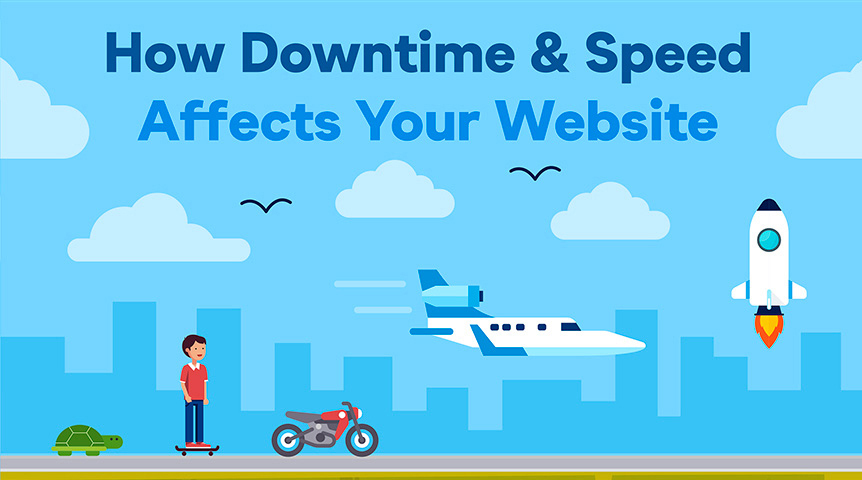 Downtime and Speed Infographic Intro