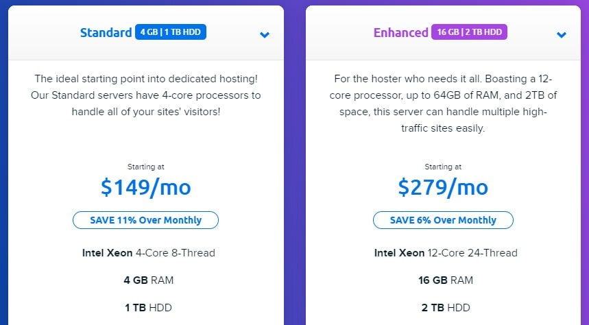 dreamhost-dedicated-packages