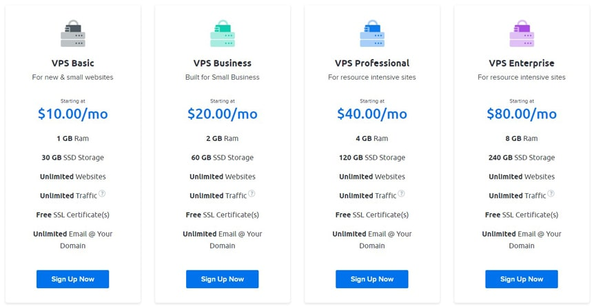 dreamhost-vps-packages