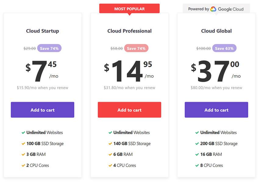 hostinger-cloud-packages