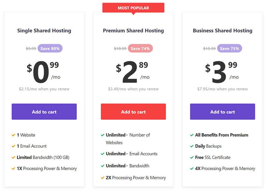 hostinger-shared-packages